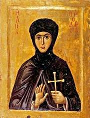 Virgin Martyr Theodosia Of Constantinople