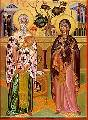 Martyrs Cyprian And Justina